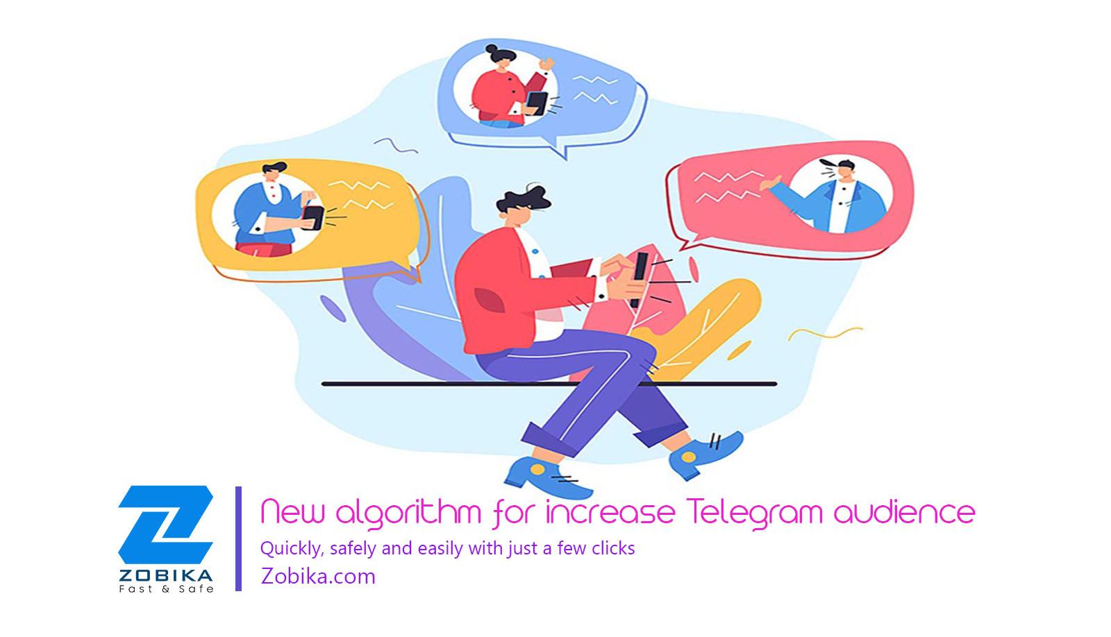 New algorithm for increase Telegram in 2021