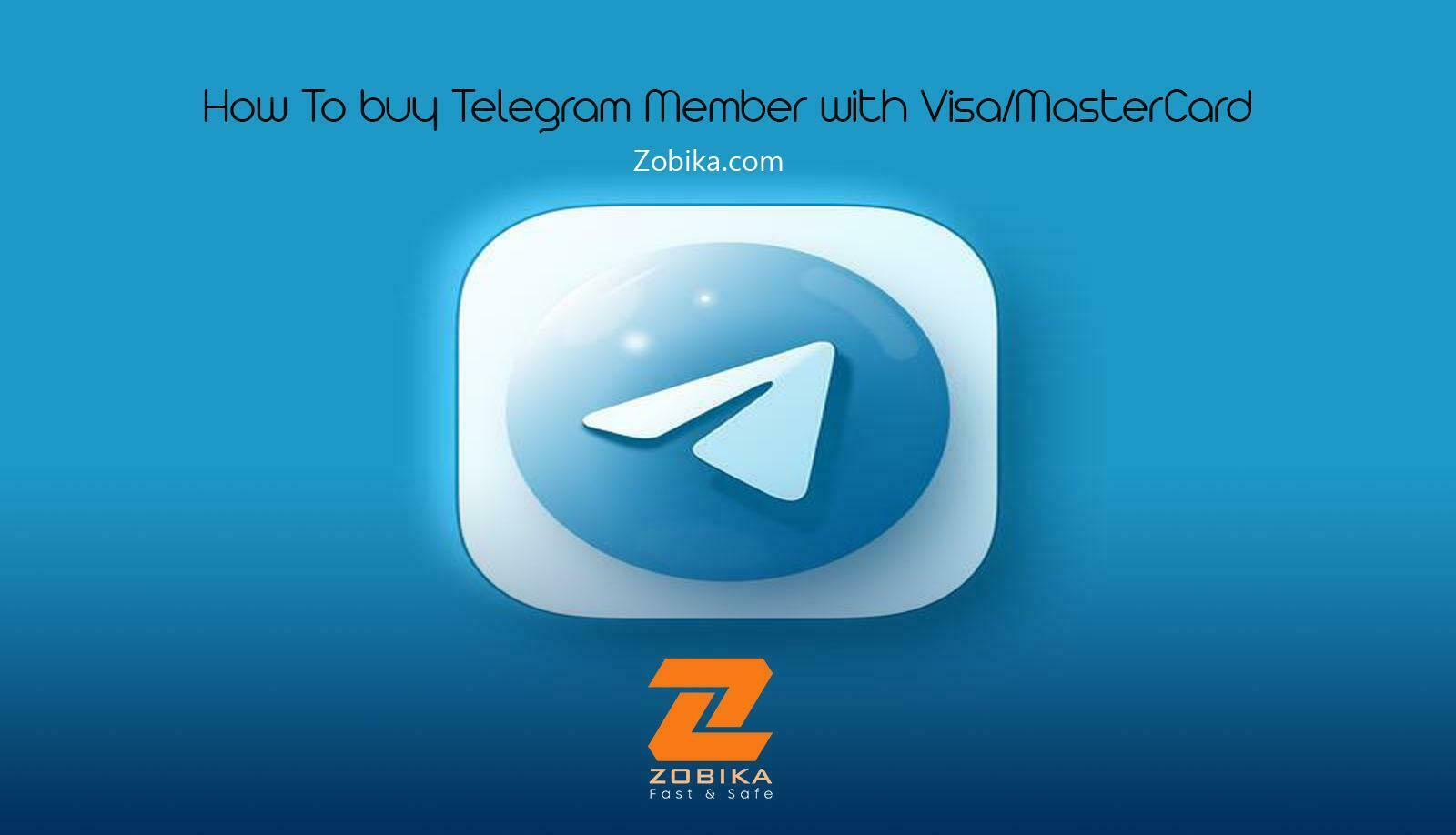 How To Purchase Telegram Member with Visa/MasterCard
