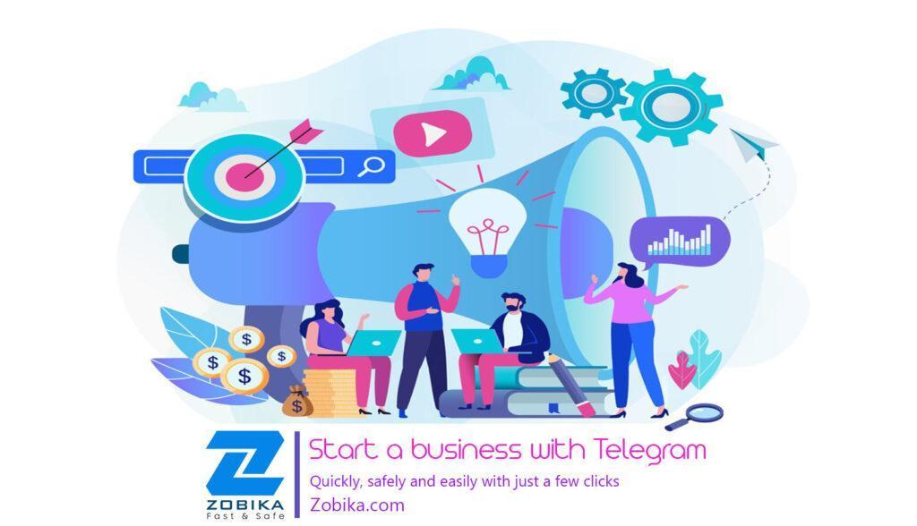 business with Telegram / Telegram business
