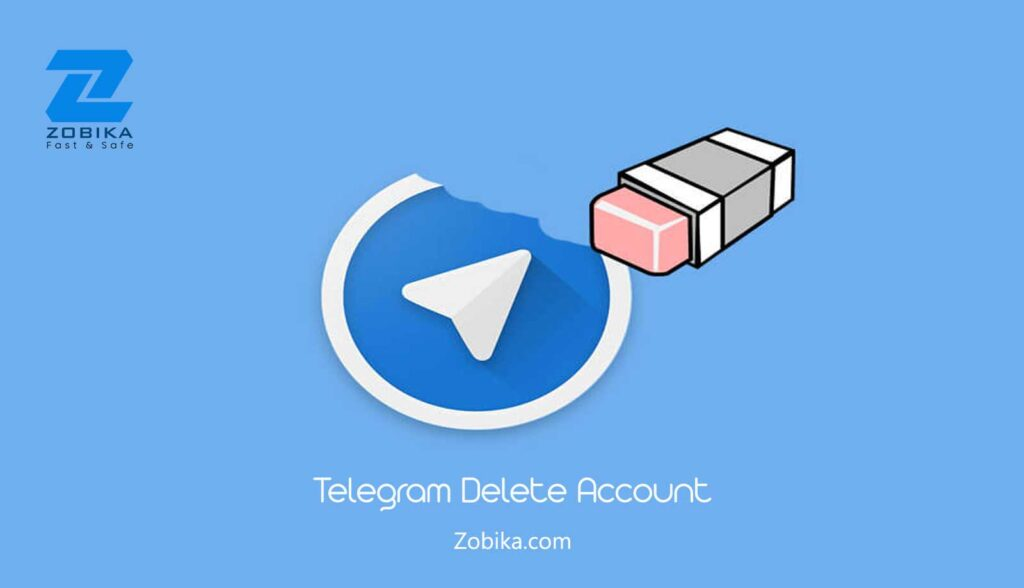 Telegram delete account