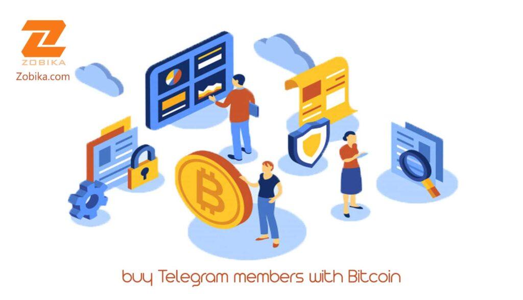 buy Telegram members with Bitcoin