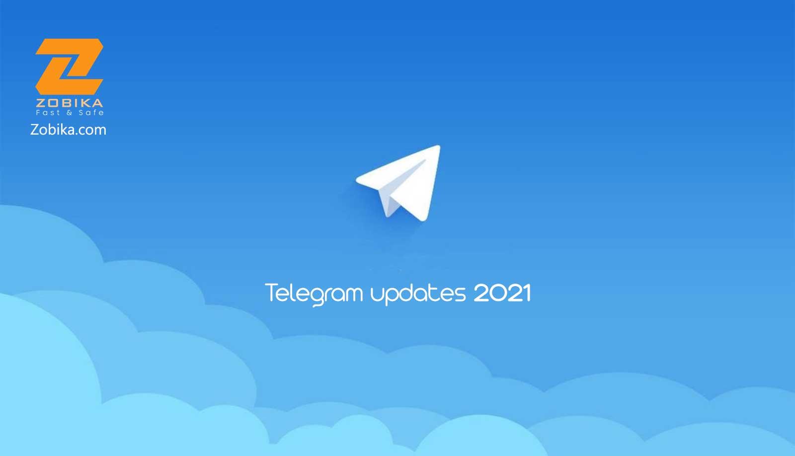 telegram updates 2021