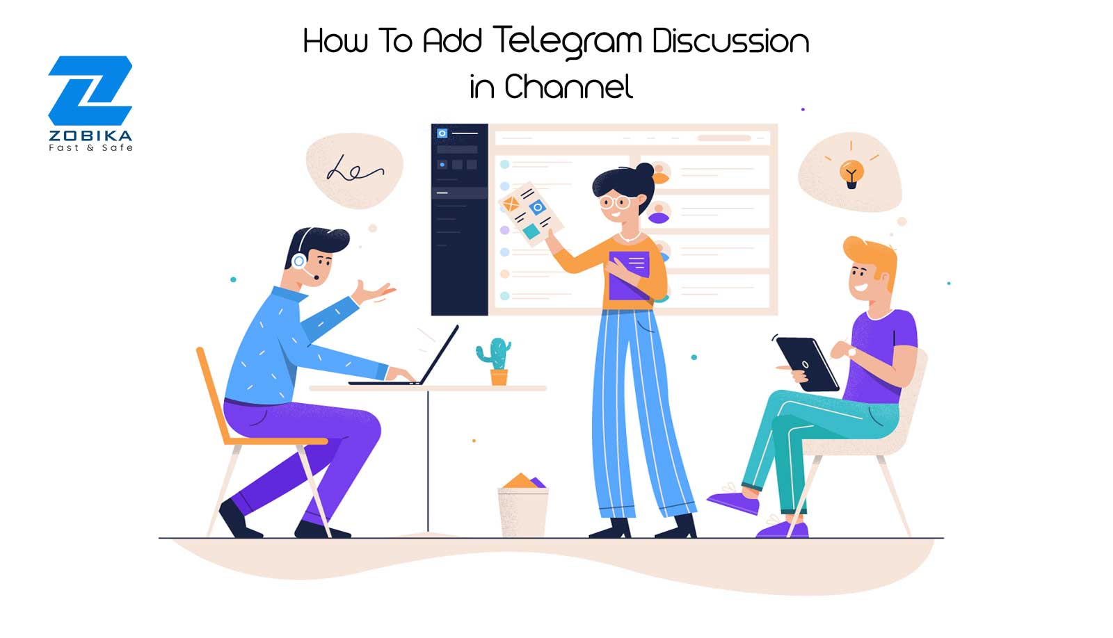 How To Add Telegram Discussion in Channel